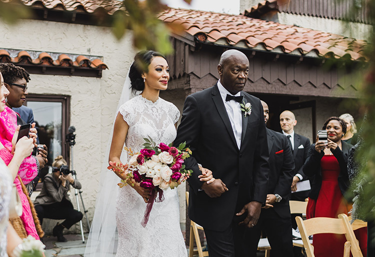 featured wedding by gina maloney events